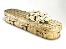 Handgemaakt bamboe kist, eerlijke handel