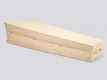Massief ongelakt naaldhout