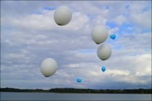 Asverstrooing per helliumballon