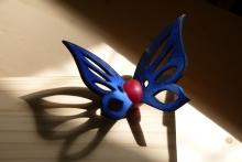 beschilderde vlinder kistsluiting Radbout Spruit